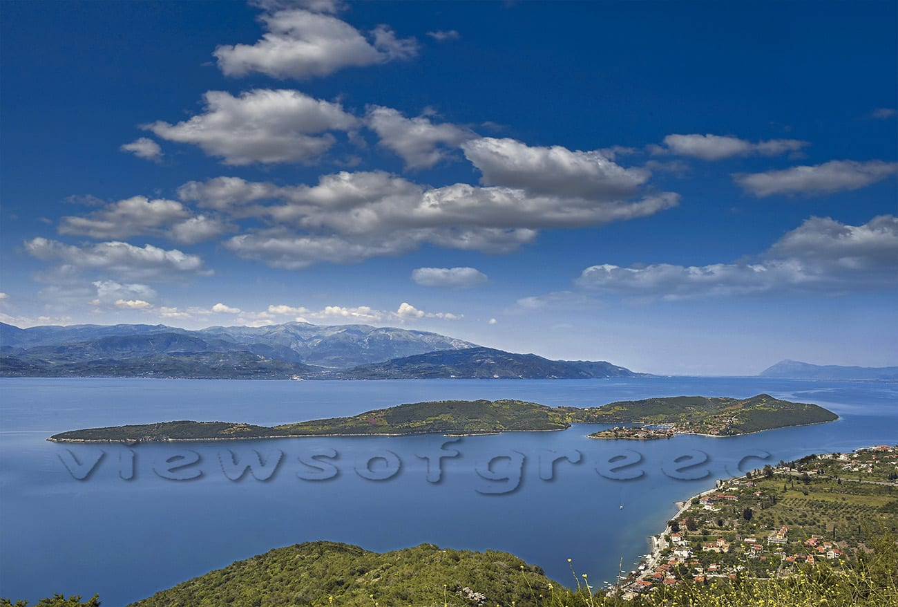 Small island, tourism, sea, summer, greece, vacation, boat, landscape, trizonia, greek, Greece, mediterranean, holiday, nature, bay, marine, corinthian gulf, Τριζόνια, κορινθιακός κόλπος, Δωρίδα, Ελλάδα