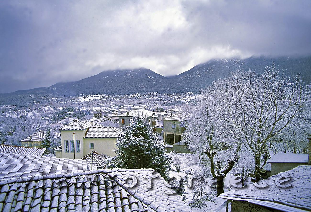 vytina, greece, village, peloponnese, arcadia, vitina, mountain mainalon, snow, Βυτίνα, Μαίναλο, χιονοδρομικό κέντρο, Αλωνίσταινα, Μαγούλιανα, χιόνι, Αρκαδία,