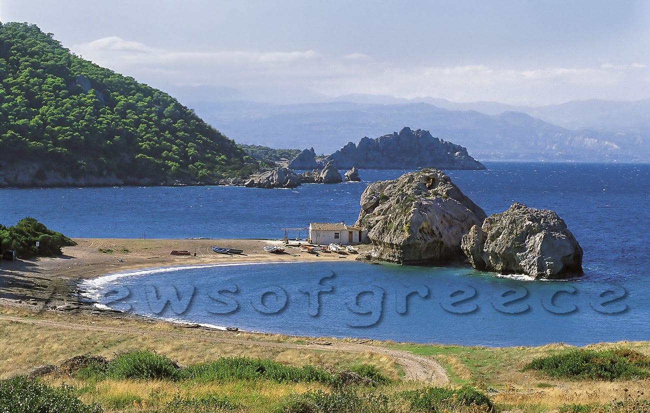 iraio, nature, sea, perachora, greece, vacation, greek, blue, cape, landscape, summer, vouliagmeni, heraion, iraion, ancient, lake, temple, Λουτράκι, λίμνη Ηραίου, ακρωτήρι, φάρος Μελαγκράβι