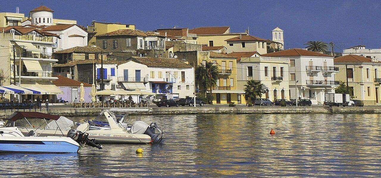 GYTHIO, a nostalgic port town