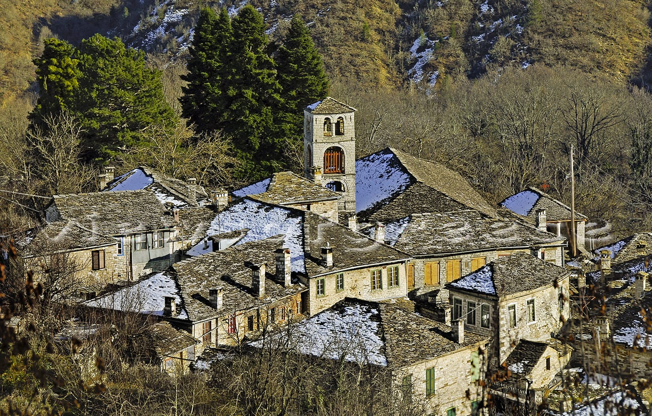 architecture, zagori, traditional, greek, mountain, greece, dilofo, epirus, zagorochoria, destination, mountains, zagori village, Κεντρικό Ζαγόρι, Δίλοφο, Κήποι, Κουκούλι, γεφύρια, Τύμφη