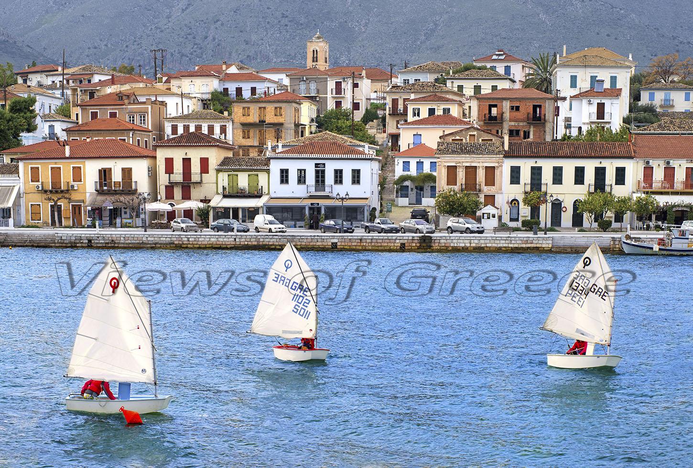 culture, fokida, Galaxidi town, Greece, harbor, historic, traditional village,