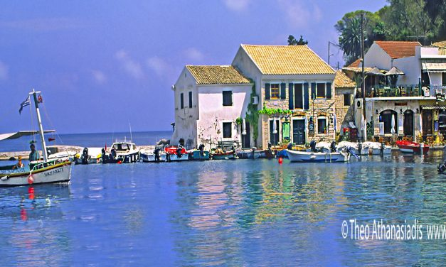 Paxi,a favorite sailing destination