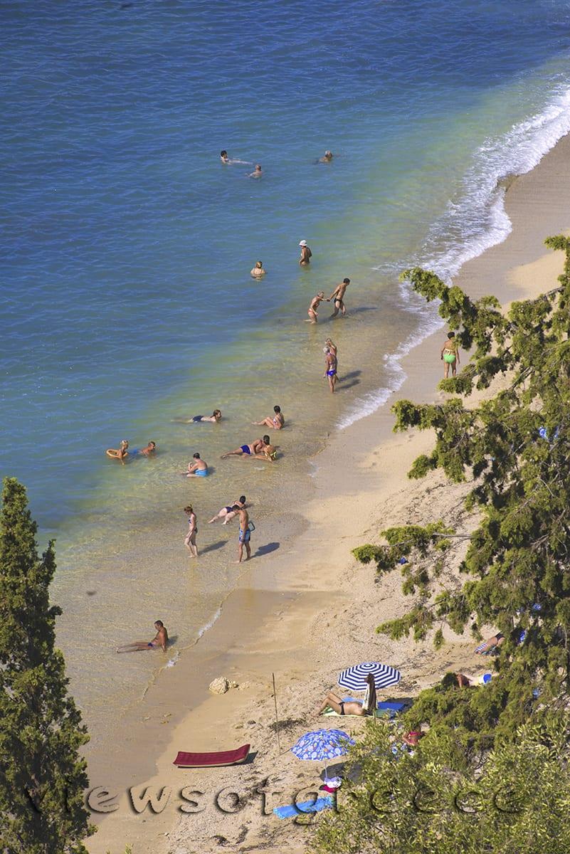 Greece, greek, ionian sea, ipiros, Parga, castle, Πάργα κάστρο,, Ήπειρος, Ιόνιο Πέλαγος. παραλίες, Σαρακήνικο,