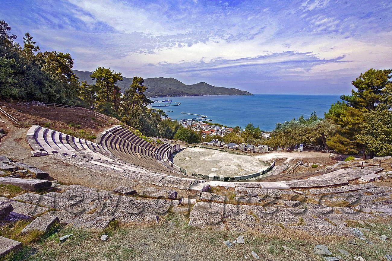 thasos, island, greece, blue, greek, travel, beach, thassos, landscape, aegean, sea, seascape, coast, bay, holiday, tree, destination, seashore, turquoise, forest Θάσος,