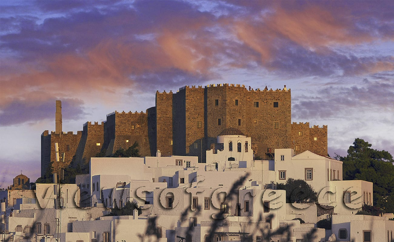 patmos, greece, dodecanese, greek, architecture, unesco, monastery, chora, apocalypse, religion, saint john the theologian, Πάτμος, μονή Αγ. Ιωάννη Θεολόγου, παραλίες