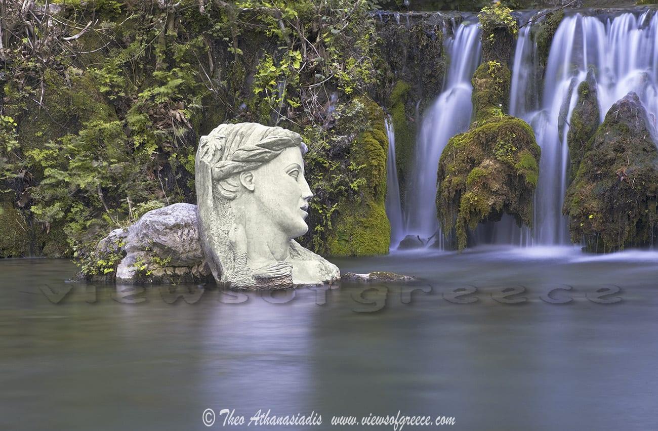 fountain, lethe and mnemosyne,Πηγές Κρύας, greek mythology ,