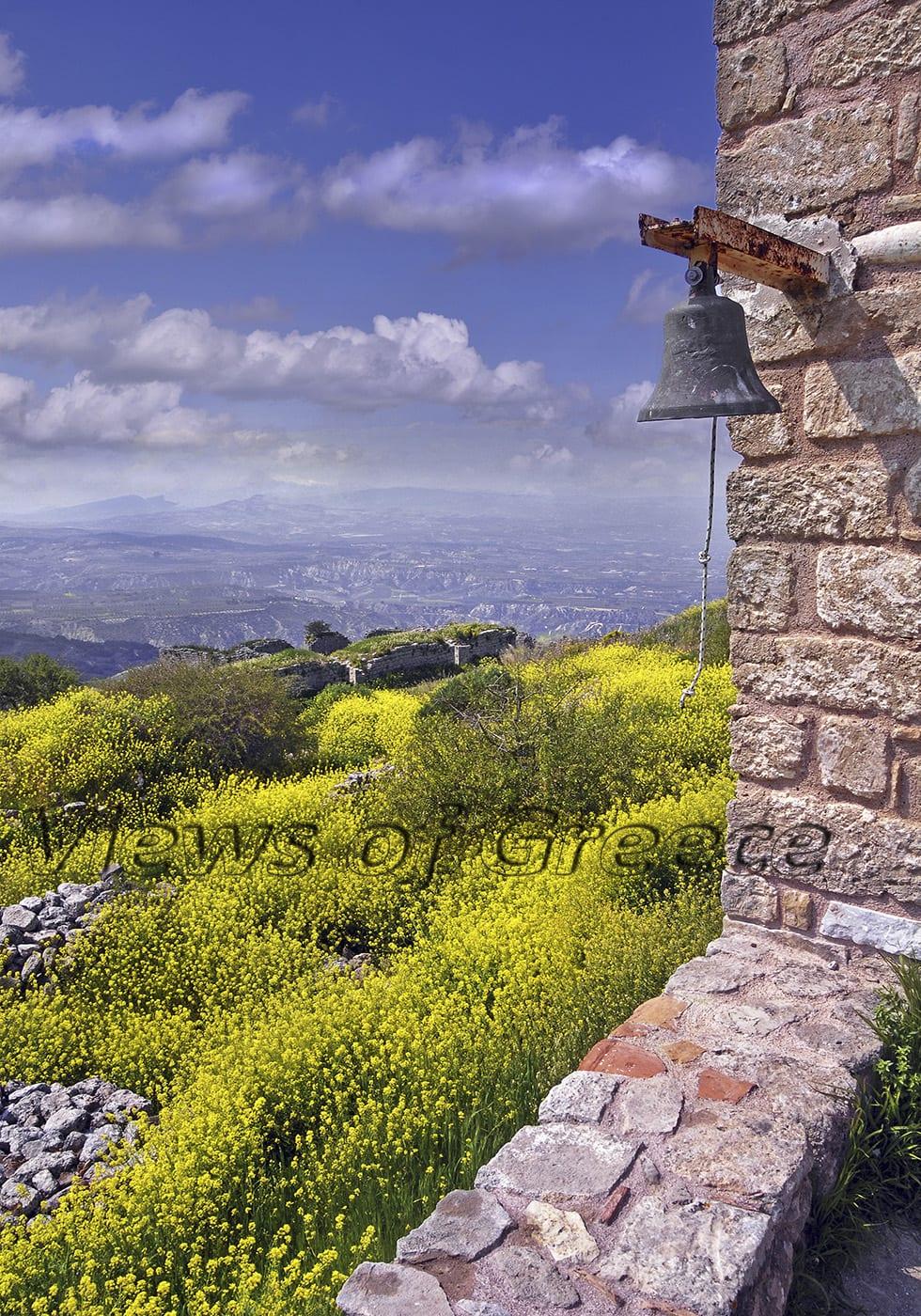 historic, greek, greece, touristic, corinth, peloponnese, akrokorinthos, korinth, peloponnesus, peloponnisos, korinthos, temple, fortress, Venetian, medieval, castle, Ακροκορινθος, κάστρο, Πελοπόννησος, Κορινθία, Φραγκοκρατία, άνοιξη, αρχαιολογικός χώρος