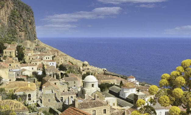 "MONEMVASIA, the ""single access"" to the past"