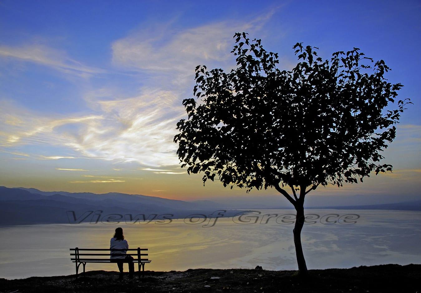 lake, nature, landscape, travel, greece, reflection, agrinio, largest, calm, fishing, mountain lake reflection, aitoloakarnania, lake Trihonida, Τριχωνίδα λίμνη, νομός Αιτωλοακαρνανίας, Θέρμο, διαδρομές, αποδράσεις, ηλιοβασίλεμα, δειλινό, καταρράκτης, νερόμυλος, Θέρμο, αρχαίο Θέρμο