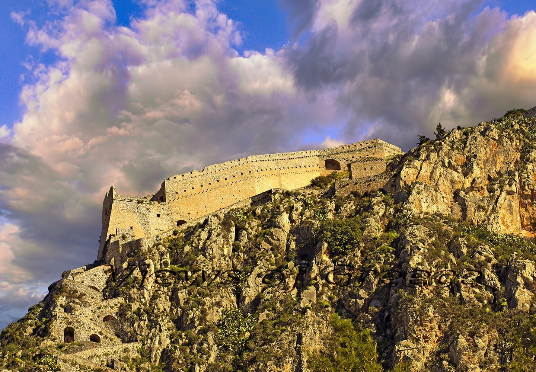 castle, greek, old, europe, travel, architecture, ancient, greece, medieval, history, mediterranean, historical, fort, Ναύπλιο, Παλαμήδι, Άργος, Χλεμούτσι, Μοριάς, Ακροκόρινθος, Πελοπόννησος, κάστρα, μεσαίωνας