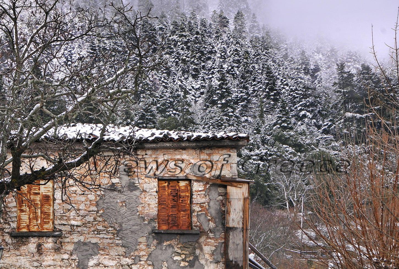 Παρνασσός, Γραβιά, Βάργιανη, Vagonetto, χιόνι, χωριά, διαδρομές