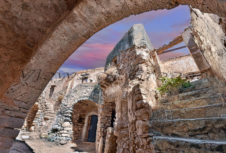 Kythira Κύθηρα. Μεσαιωνικός Μυλοπόταμος