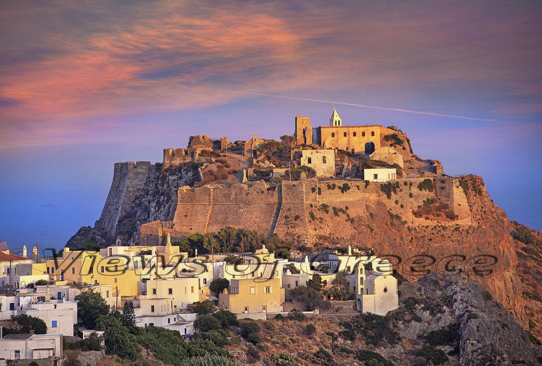Kythira Κύθηρα. Η Χώρα και το Κάστρο