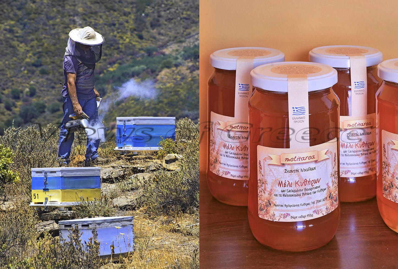 Kythira Κύθηρα. Θυμαρίσιο μέλι ένα εξαιρετικό προϊόν