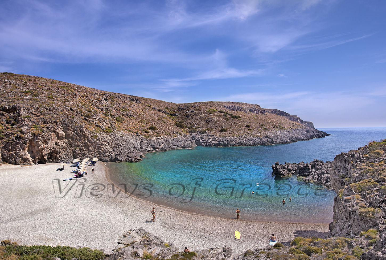 Kythira Κύθηρα. η παραλία Χαλκός,